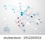 vector industrial and... | Shutterstock .eps vector #1912203523