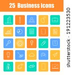 set of flat design icons for... | Shutterstock . vector #191223530