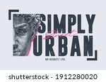 typography slogan close up face ...   Shutterstock .eps vector #1912280020