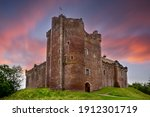 Sunset Over Doune Castle In The ...