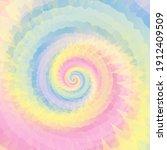 tie dye background vector... | Shutterstock .eps vector #1912409509