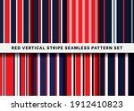seamless vertical stripe line... | Shutterstock .eps vector #1912410823
