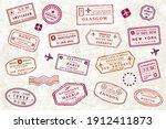 World Passport Stamp Collection....