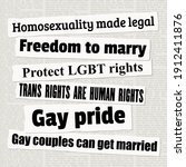 Lgbt Rights And Equality....
