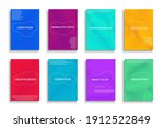 collection of bright colorful...   Shutterstock .eps vector #1912522849