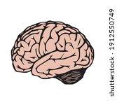 brain  icon for graphic design...   Shutterstock .eps vector #1912550749