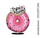 Pink Glazed Donut  Doughnut...