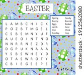 Easter Word Search Puzzle....