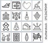 Ornament Icons Set   Simple Set ...