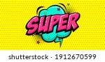 comic speech bubbles with text... | Shutterstock .eps vector #1912670599