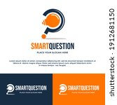 question and answer vector logo ... | Shutterstock .eps vector #1912681150
