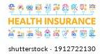 health insurance care minimal... | Shutterstock .eps vector #1912722130