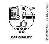 car quality vector icon concept....   Shutterstock .eps vector #1912722433