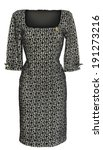 half sleeve ladies dress on... | Shutterstock . vector #191273216