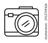 photographic camera icon over... | Shutterstock .eps vector #1912739326