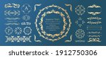 antique decorative materials ... | Shutterstock .eps vector #1912750306