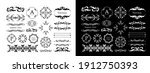 antique decorative materials ... | Shutterstock .eps vector #1912750393