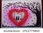 Couple Swing On Love Tree ...