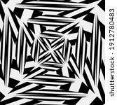 black and white mandala.... | Shutterstock . vector #1912780483
