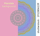 mandalas. decorative round... | Shutterstock .eps vector #1912806139