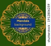 mandalas. decorative round... | Shutterstock .eps vector #1912806259