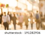 city commuters. high key... | Shutterstock . vector #191282936