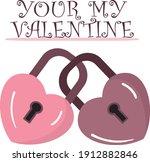 ilustration vector heart... | Shutterstock .eps vector #1912882846