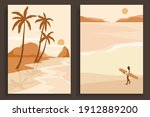 abstract coloful landscape... | Shutterstock .eps vector #1912889200