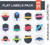 vector stickers and badges....