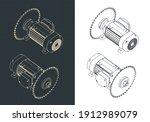stylized vector illustration of ...   Shutterstock .eps vector #1912989079
