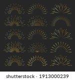 sunburst icon. sun burst with...   Shutterstock .eps vector #1913000239
