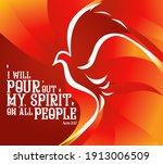 Holy Spirit Pentecost Sunday...