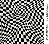 Distorted Checkered Pattern....