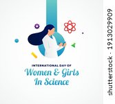 international day of women and... | Shutterstock .eps vector #1913029909