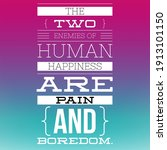 motivation quotes. the two... | Shutterstock . vector #1913101150