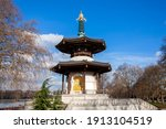 The Peace Pagoda In Battersea...