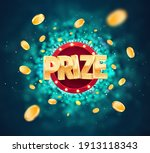win prize in gambling game on... | Shutterstock .eps vector #1913118343