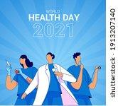 world health day 2021... | Shutterstock .eps vector #1913207140