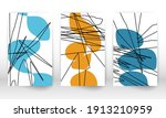 scribbles design. modern... | Shutterstock .eps vector #1913210959