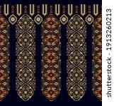 vector seamless border ornament.... | Shutterstock .eps vector #1913260213