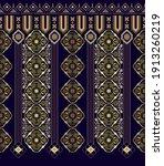 vector seamless border ornament....   Shutterstock .eps vector #1913260219