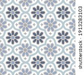 no people  pattern  moroccan ... | Shutterstock .eps vector #1913283103