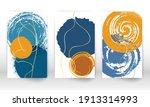 set of geometric shapes.... | Shutterstock .eps vector #1913314993