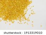 daal chana  heap of yellow... | Shutterstock . vector #1913319010