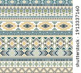 mexican american indian pattern ... | Shutterstock .eps vector #1913337160