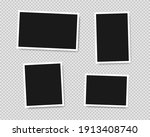 set of template photo frames... | Shutterstock .eps vector #1913408740