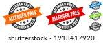 allergen free stamp. allergen...   Shutterstock .eps vector #1913417920