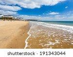 sandown beach on the isle of... | Shutterstock . vector #191343044