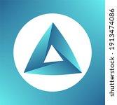 design element. penrose optical ... | Shutterstock .eps vector #1913474086