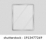glass plate in vertical frame... | Shutterstock .eps vector #1913477269